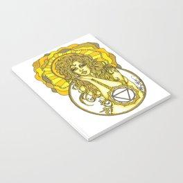 Solar Plexus Chara Notebook