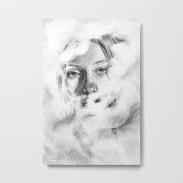 Humo Metal Print