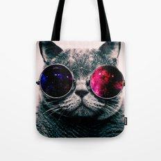 sunglasses cat Tote Bag