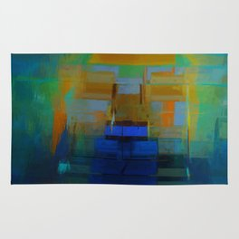 Abstract Composition 200 Rug
