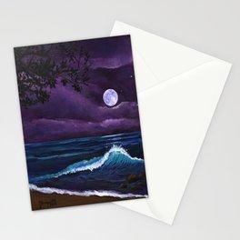 Romantic Kauai Moonlight Stationery Cards
