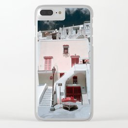 Angela Madre Clear iPhone Case