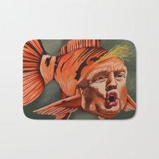 Fish Face Bath Mat