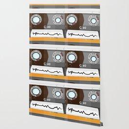 The cassette tape Robot Wallpaper