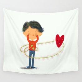 Boy in Love #2 Wall Tapestry