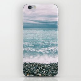 Menton Beach iPhone Skin