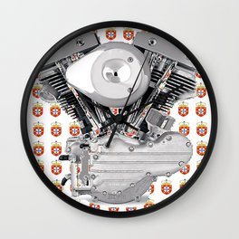 Portuguese Style. Wall Clock