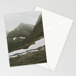 Lapland Mountains  Stationery Cards