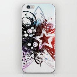 STAR FLOWER. iPhone Skin