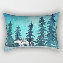 Take me to the stars Rectangular Pillow