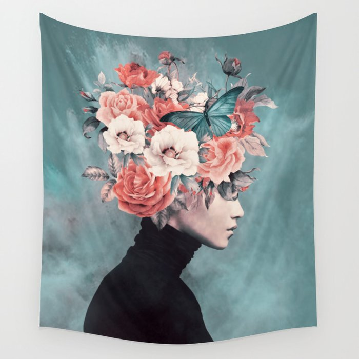 blooming 3 Wall Tapestry