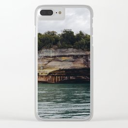 Pictured Rocks I Clear iPhone Case