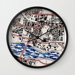 Lacking in Depth Wall Clock