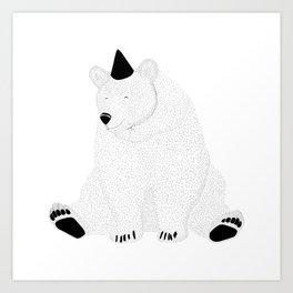 björn Art Print