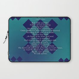 Solider of The Sword Laptop Sleeve