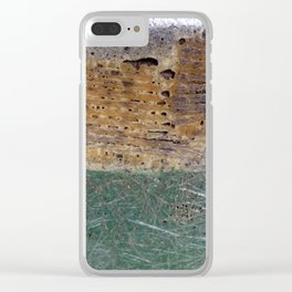 Abstract - Three of Many Clear iPhone Case