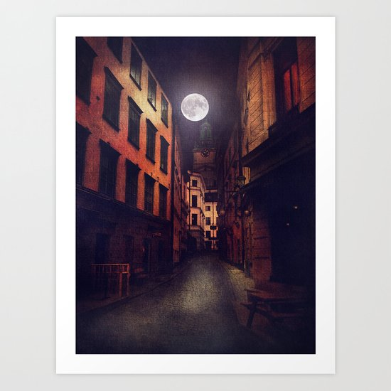 Gamla Stan, Stockholm. Art Print