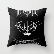 The Best Ever Death Metal Bands Out Of Denton Throw Pillow