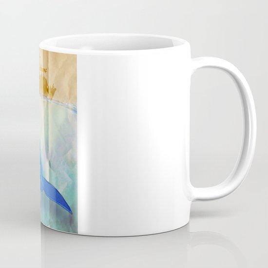 the beauty beneath _ humpback whale Mug