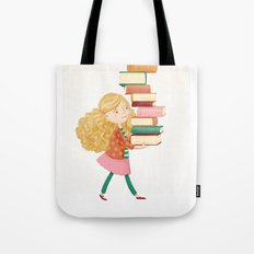 Library Girl 2 Tote Bag