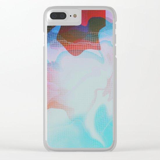 Glitch 29 Clear iPhone Case
