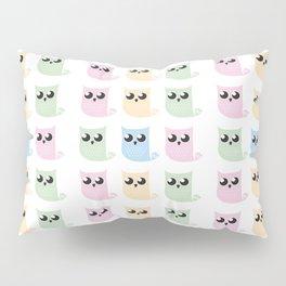 Pastel Mer-owls Pillow Sham