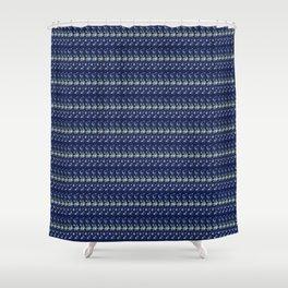 Silver thread Shower Curtain