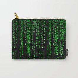 Matrix Binary Code Carry-All Pouch