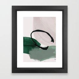 minimalist painting 01 Framed Art Print