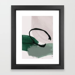 minimalist painting 01 Framed Art Print