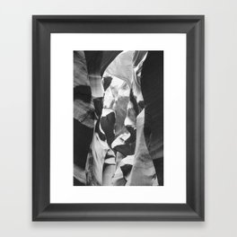 ANTELOPE CANYON XL Framed Art Print