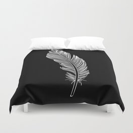 Invert Feather Duvet Cover