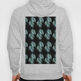 Palm Leaves Pattern #2 #Mint #Black #decor #art #society6 Hoody