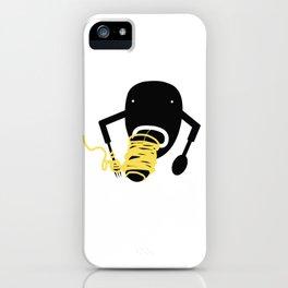 Italian Spaghetti iPhone Case