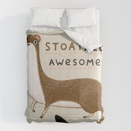Stoatally Awesome! Comforters