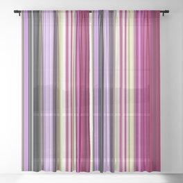 Spring Rainbow Sheer Curtain