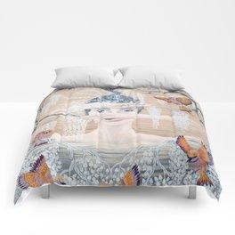Wisteria tree Comforters