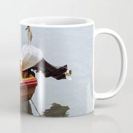 Fishing Bird Coffee Mug