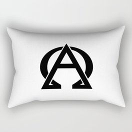 Beggining and the End Rectangular Pillow