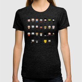 Horror Movies Alphabet T-shirt
