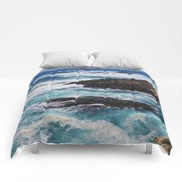 Turbulent Blues Comforters