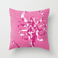 drive Throw Pillows featuring Drive by Bill Pyle