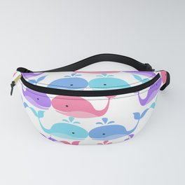 Whales Fanny Pack