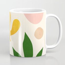 Abstraction_Floral_001 Coffee Mug
