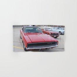 Vintage 1968 Torred MOPAR 426 Hemi Charger Muscle Car Color photography / photographs Hand & Bath Towel