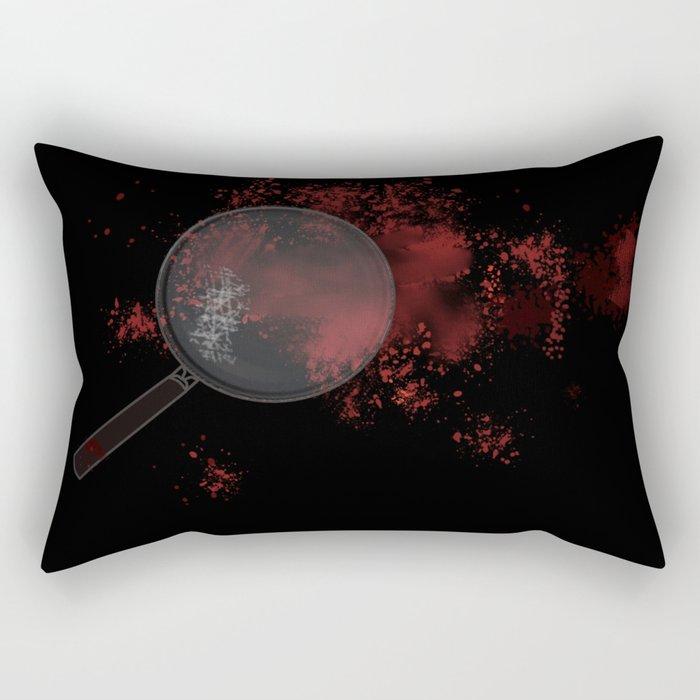A good mystery Rectangular Pillow