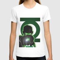 green lantern T-shirts featuring Green Lantern by Adam Surin Max
