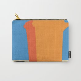 Orange Garbage Bin Carry-All Pouch