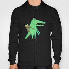 Crocodile and Sloth. Hoody