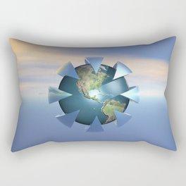 Still Life On Earth Rectangular Pillow